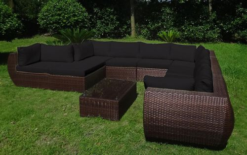 baidani rattan garten lounge freedom select integrierter stauraum gartenprodukte. Black Bedroom Furniture Sets. Home Design Ideas