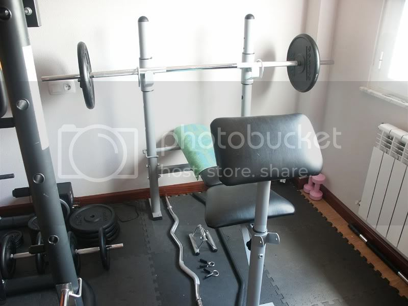Fotos de mi gym para los que se lo quieren montar en casa - Como hacer un gimnasio ...