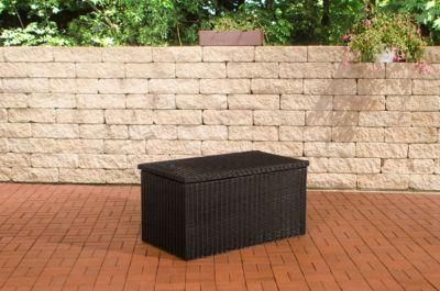 clp polyrattan aufbewahrungsbox gartentruhe f r kissen und auflagen in verschiedenen gr en und. Black Bedroom Furniture Sets. Home Design Ideas