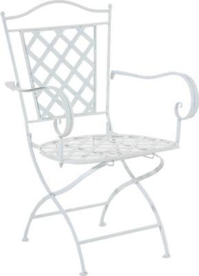 Clp eisenstuhl adara im jugendstil i outdoor stuhl mit armlehnen i handgefertigter gartenstuhl - Farben im jugendstil ...