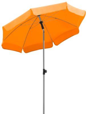 schneider sonnenschirm locarno mandarine 150 cm rund gestell stahl bespannung polyester 2. Black Bedroom Furniture Sets. Home Design Ideas