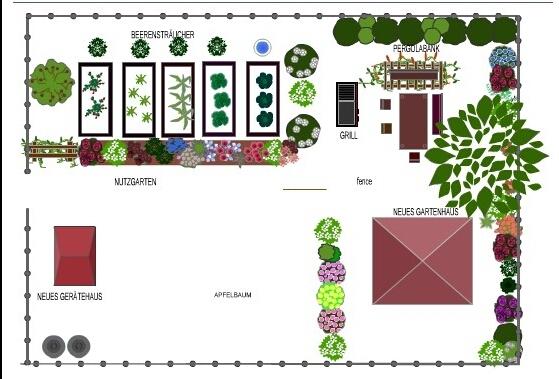 brauchberes programm zur gartenplanung gestaltung garten. Black Bedroom Furniture Sets. Home Design Ideas