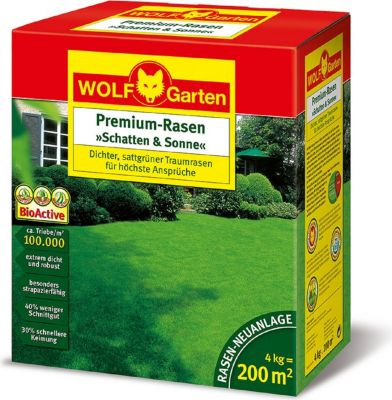 wolf garten rasensamen schatten sonne lp 200 3820050 gartenprodukte preisvergleich g nstig. Black Bedroom Furniture Sets. Home Design Ideas