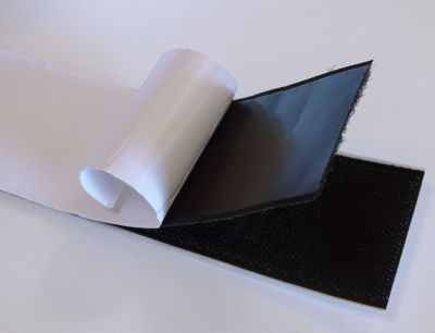 10m klettband 50mm breit selbstklebend schwarz flausch haken kabelbinder gartenprodukte. Black Bedroom Furniture Sets. Home Design Ideas